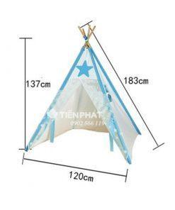 Lều Vải Canvas Cho Bé LVTP08