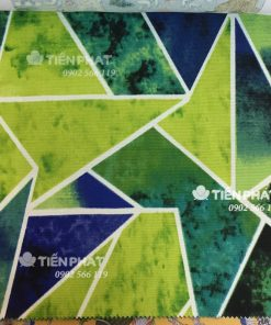 Mẫu Vải Canvas - Hoa Văn TP01