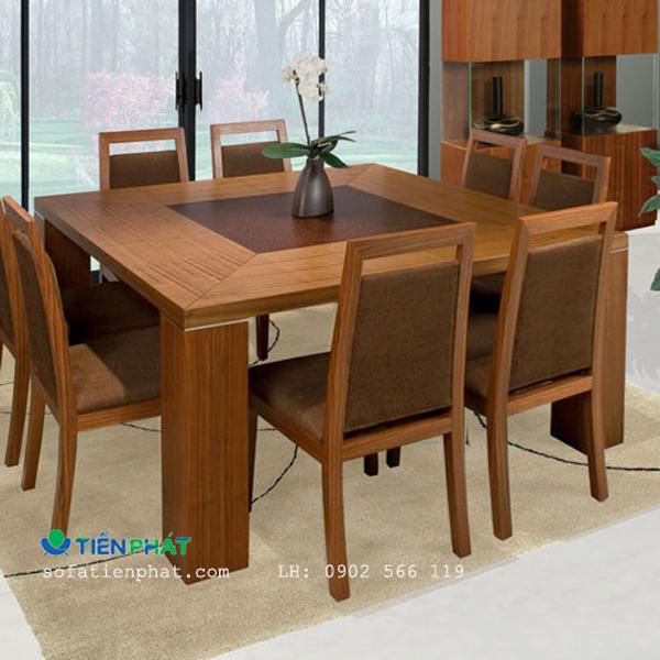 Kê bộ bàn ăn đúng vị trí