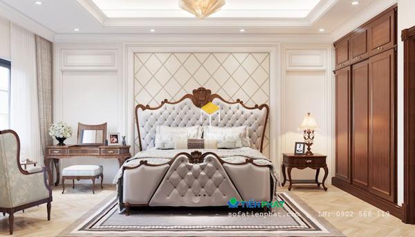 Giường châu Âu mang phong cách cổ điển